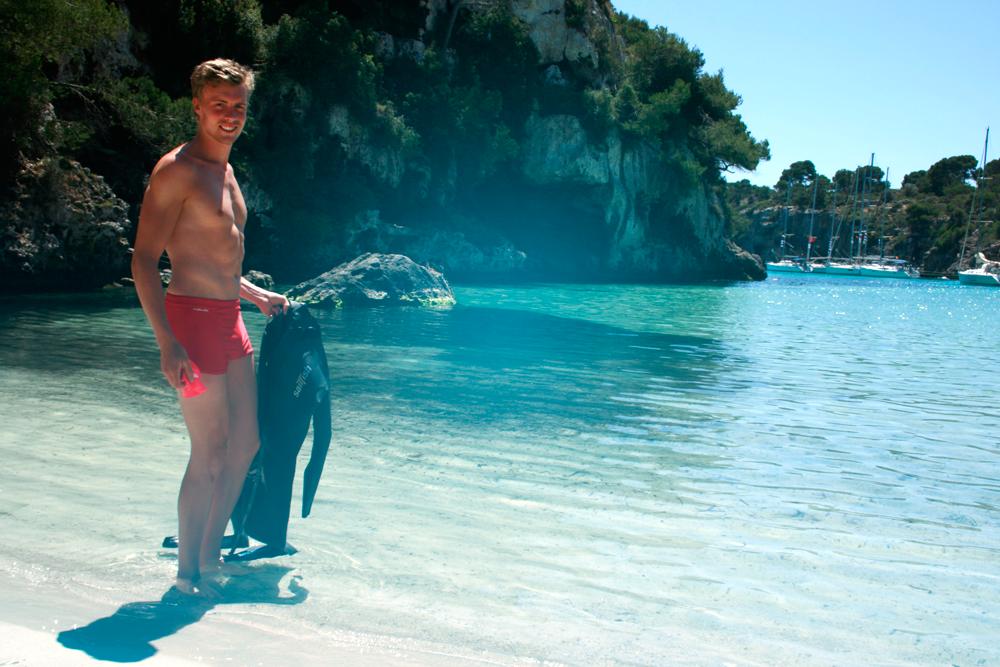 Cala Pi, Mallorca, Swimming, Andreas Lindén