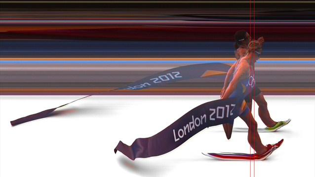 Målfoto på Lisa Nordén från OS i London 2012