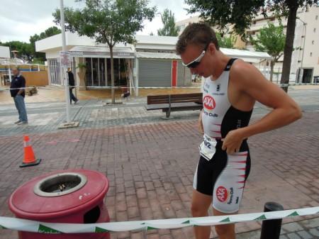 Uppvärmning Ican Triathlon