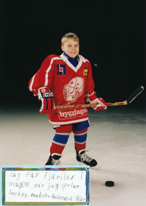 Andreas hockeyspelare