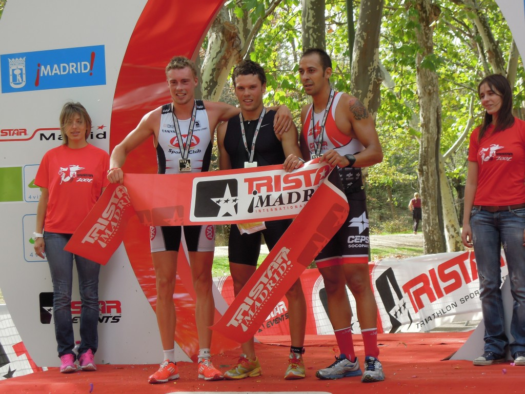 Tristar Madrid 111, top 3, podium