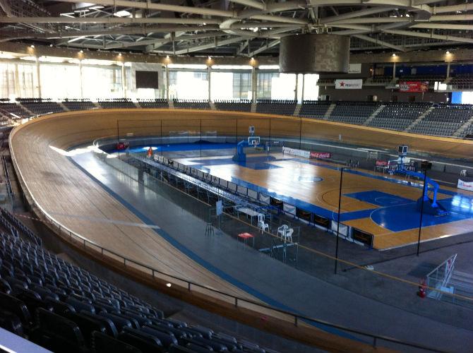 Velodromen, Palma Arena, är 250 meter lång med doserade kurvor.