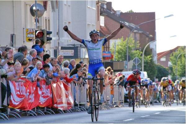 Andreas Lindén seger i Niedersachen Rundfart 2007