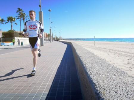 Löpning Playa de Palma, mallorca