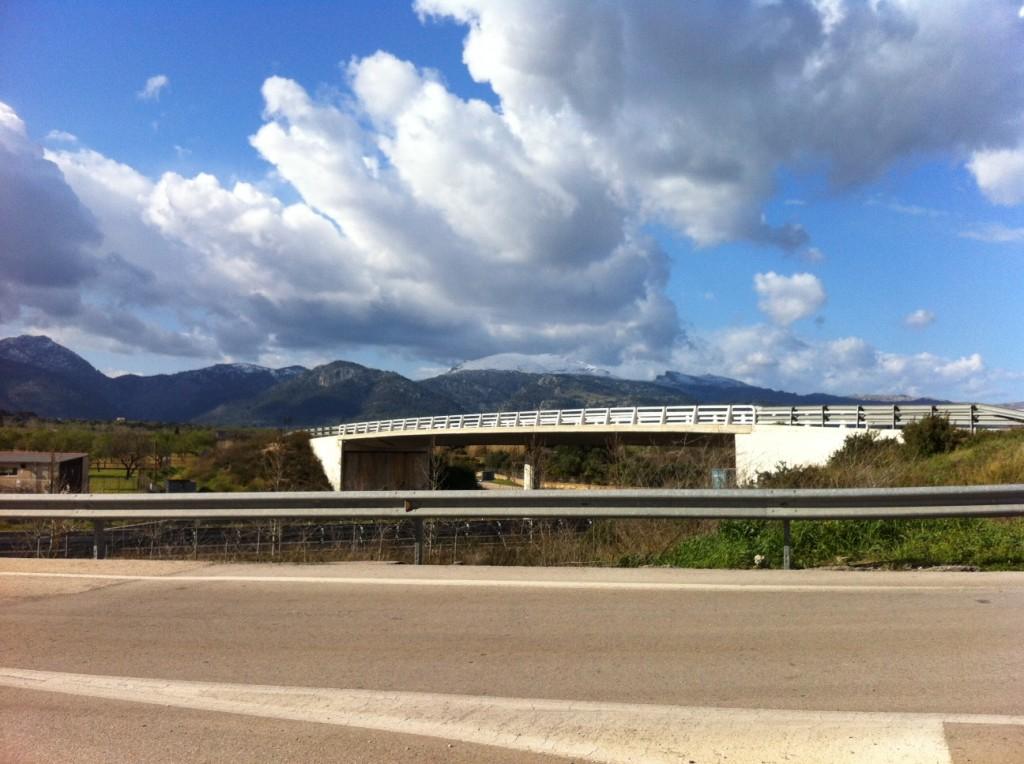 Mallorca snöklädd topp