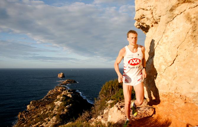 Andreas Lindén löpning i El Toro, Mallorca
