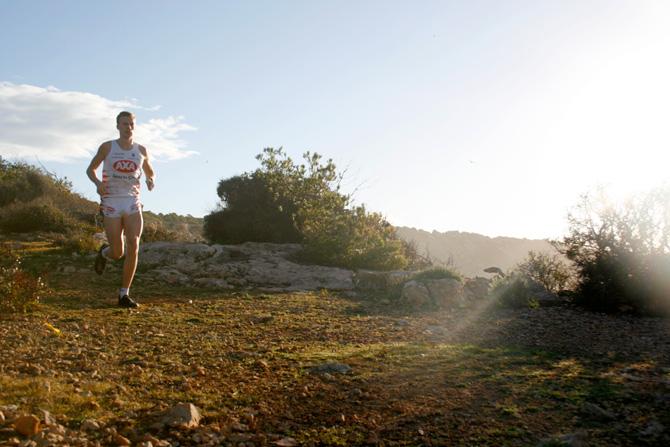 Andreas Lindén springer på Mallorca 2013