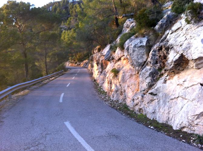 Cykel på mallorca, Galilea