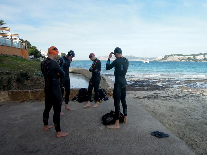 Open water-simning i Santa Ponsa