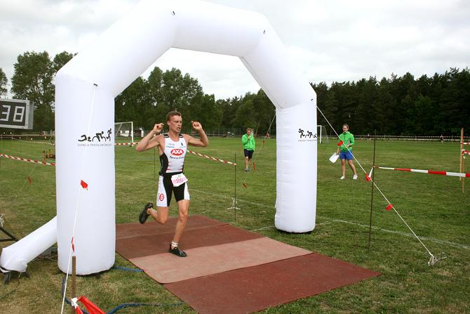Sövde Triathlon 2013 - Målgång sprinten