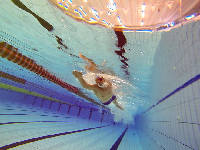 Simpass - Undervattensbild - Filborna Helsingborg