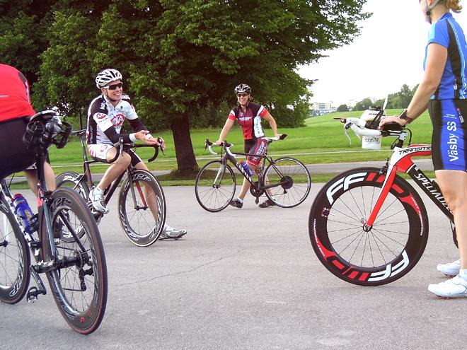 Personlig träning i Stockholm - Cykelteknik på Gärdet