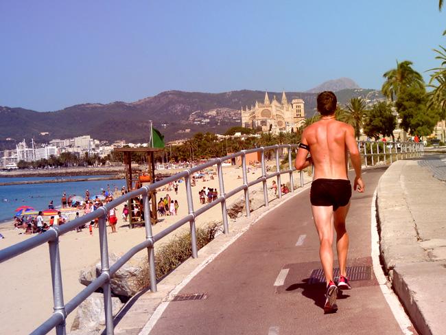 Löpning Palma de Mallorca