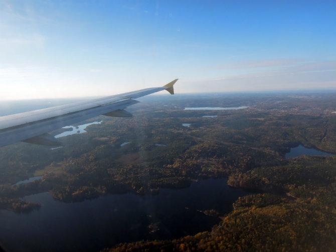 Höst flyg Sverige