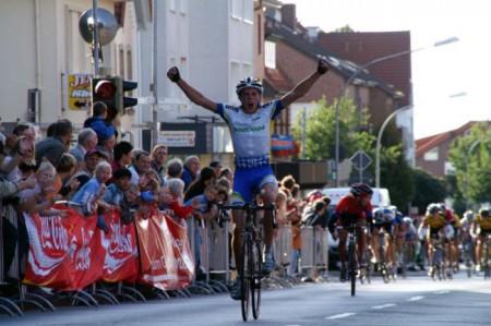 Andreas vinner Niedersachen Rundfahrt