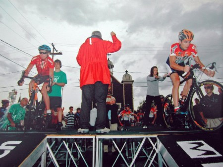 Världscuptävling i Kanada. Första etappen var en kort prolog på 400m. Det är den kortaste distansen jag tävlat i på cykel.