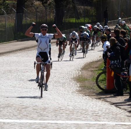 Andreas Lindén seger, cykling Sverige Hilleshögsloppet