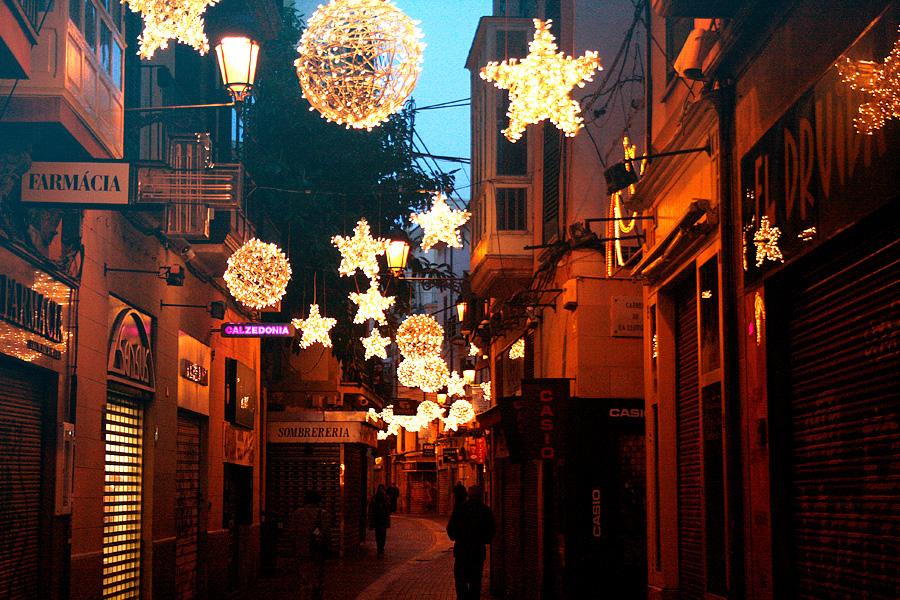 sindicat, gamla stan, mallorca, palma, jul, december