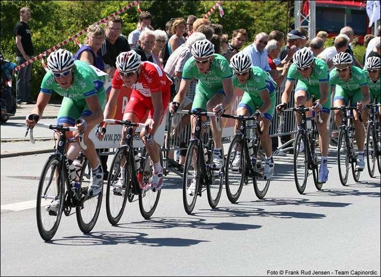 Andreas Lindén, cykling, Team Capinordic