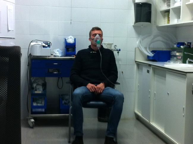Astma, sjukhus, mallorca