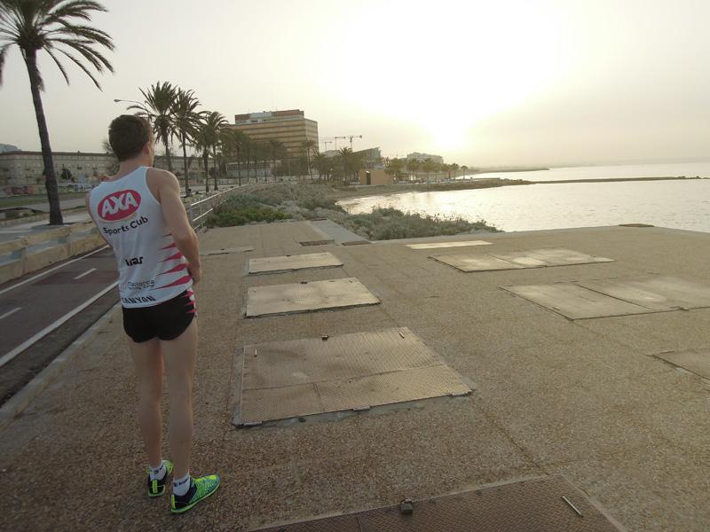 Löpning Palma de Mallorca, Lindén Salming