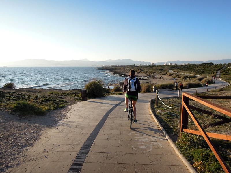 Andreas Lindén, cykelutflykt Mallorca