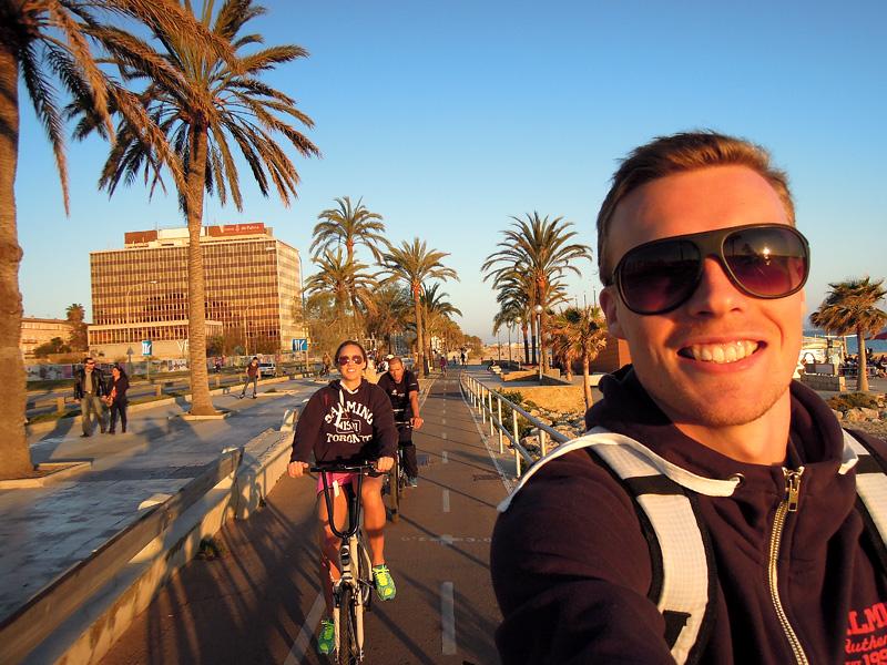 Andreas Lindén, cykelutflykt Mallorca, Palma