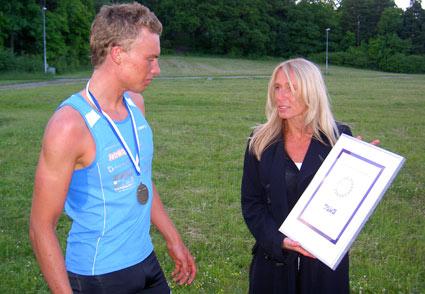Superklassikern 2010 diplom, Andreas Lindén