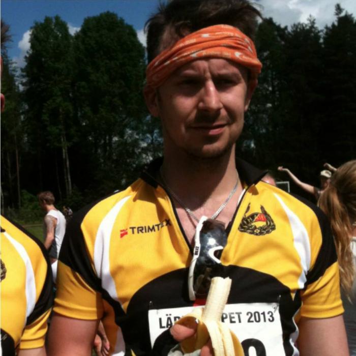 Jonathan Eriksson, VD & triathlet